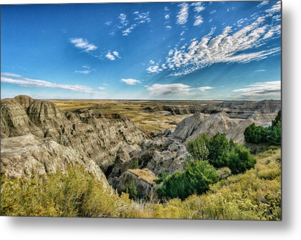Bad Lands South Dakota.... Metal Print