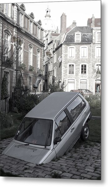 Bad Parking Metal Print by Jez C Self