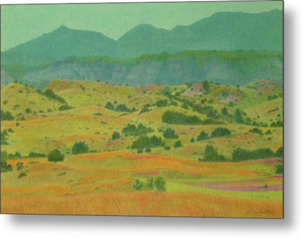 Badlands Grandeur Metal Print