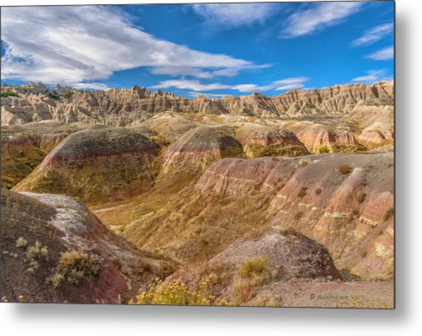 Badlands South Dakota Metal Print