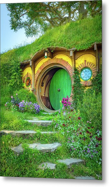 Bag End Metal Print