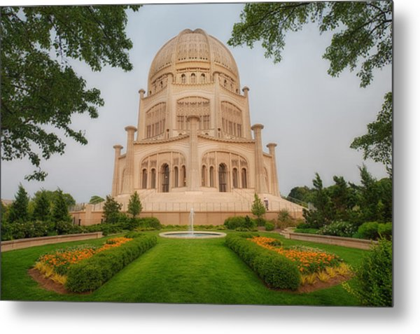 Baha'i Temple - Wilmette - Illinois Metal Print