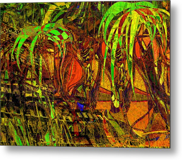 Bahama Afternoon Metal Print by Anne Weirich