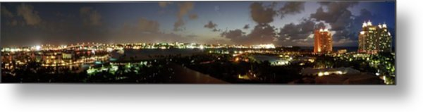 Bahama Night Metal Print