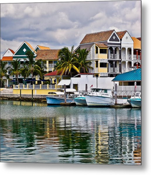 Bahamian Color Metal Print