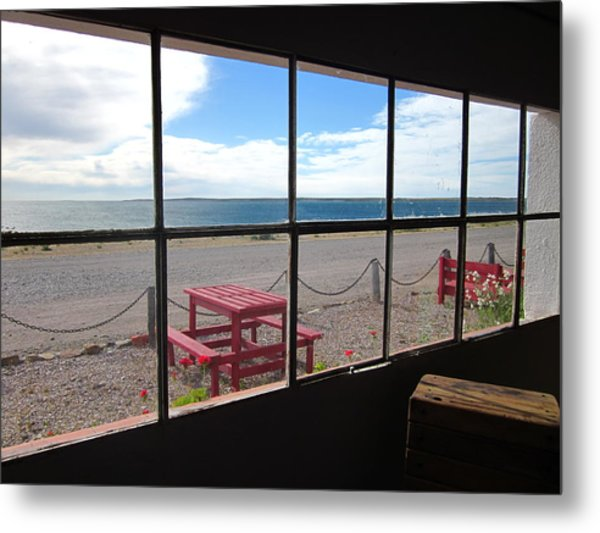 Bahia Bustamante Window Metal Print
