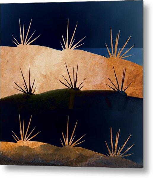 Baja Landscape Number 1 Square Metal Print