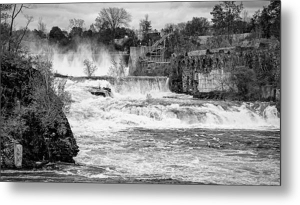 Bakers Falls Metal Print
