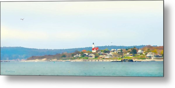 Bakers Island Lighthouse Metal Print