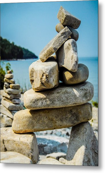 Balance Is The Key Metal Print