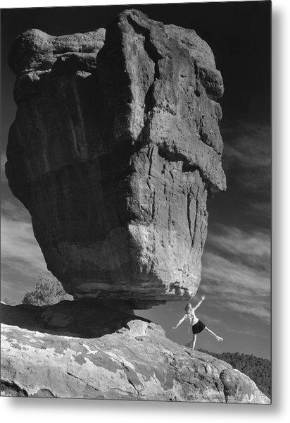 Balance Metal Print by Jim Furrer