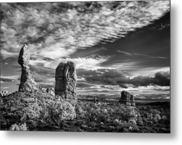 Balanced Rock And Friends Metal Print