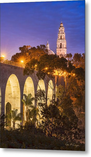 Balboa Bridge Metal Print