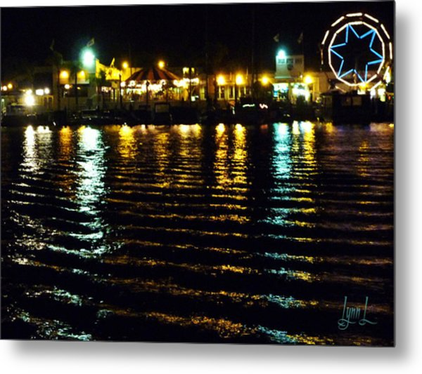 Balboa Night Metal Print by S Lynn Lehman