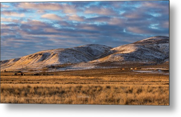 Bald Mountain At Dawn 2 Metal Print