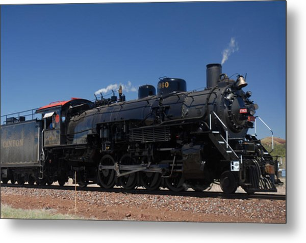 Baldwin Mikado 2-8-2 No 4960 Steam Locomotive Williams Arizona Metal Print