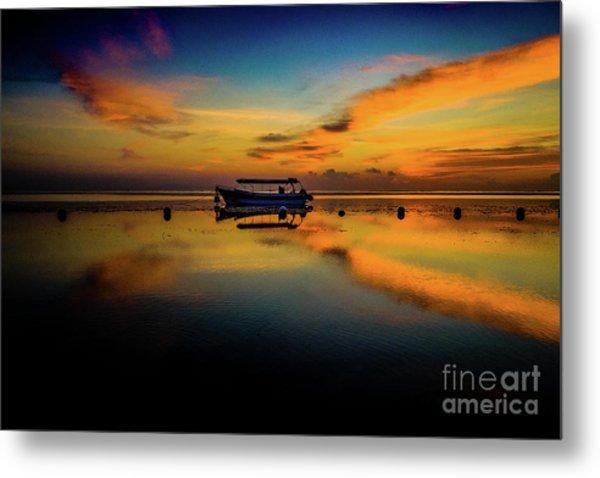 Magical Bali Sunrise Metal Print