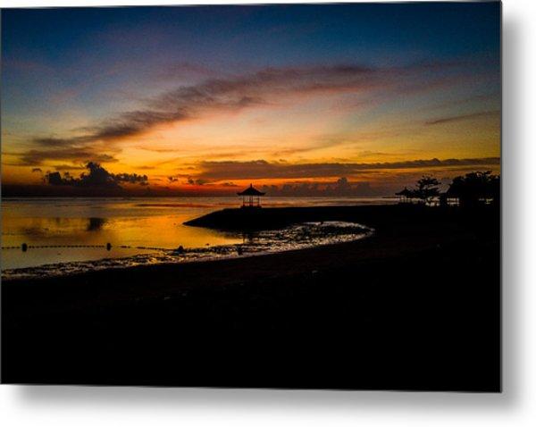 Bali Sunrise I Metal Print