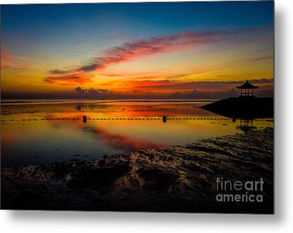 Bali Sunrise II Metal Print