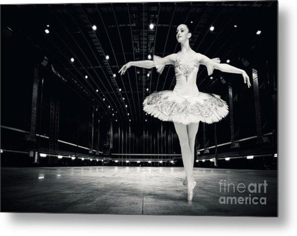 Metal Print featuring the photograph Ballerina by Dimitar Hristov