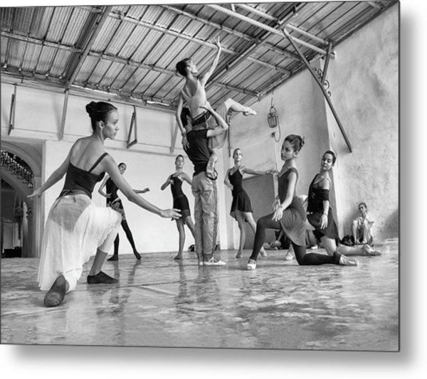 Ballet Practice - Havana Metal Print