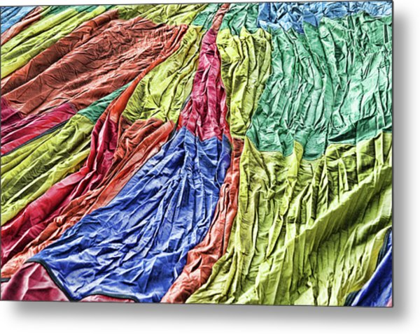 Balloon Abstract 1 Metal Print