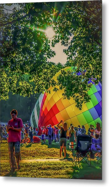Balloon Fest Spirit Metal Print