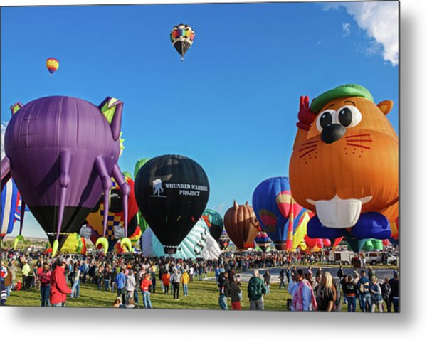 Balloon Fiesta Albuquerque I Metal Print