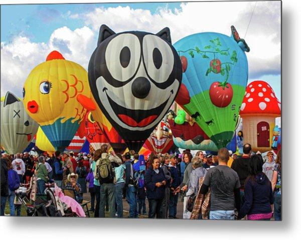 Balloon Fiesta Albuquerque II Metal Print