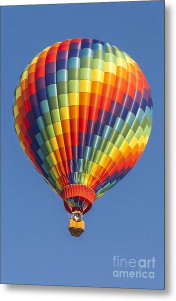 Ballooning In Color Metal Print