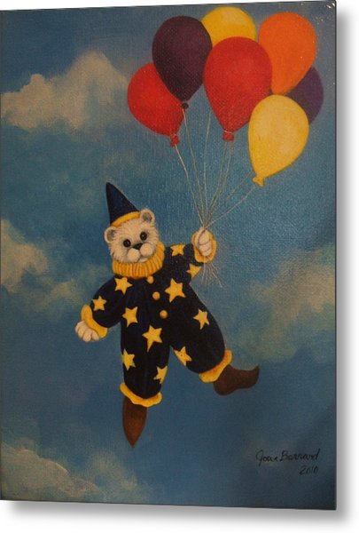 Balloons Metal Print by Joan Barnard
