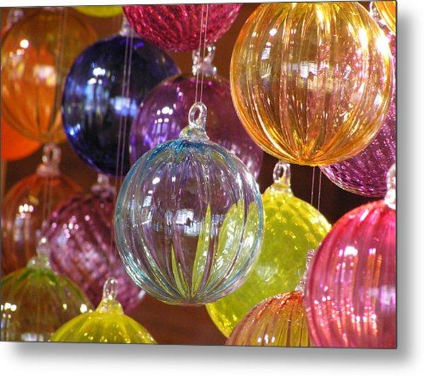 Balls Of Glass Metal Print by Richard Mansfield