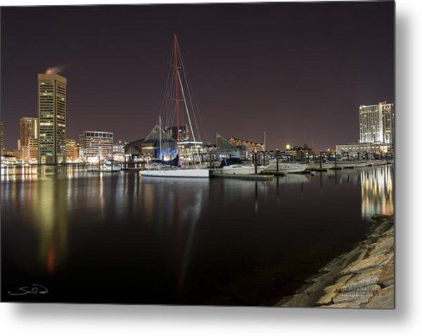 Baltimore Boat Yard Metal Print