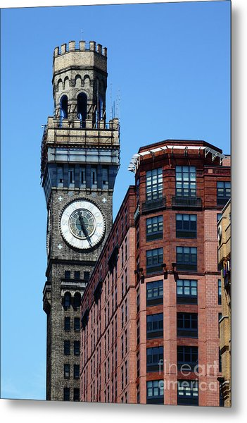 Baltimore Bromo Seltzer Tower Metal Print