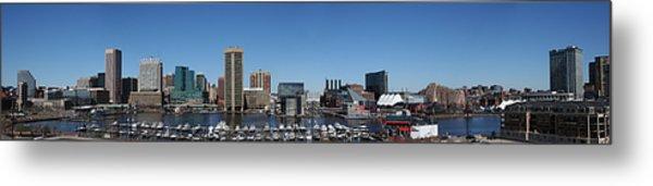 Baltimore Inner Harbor Metal Print