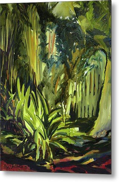 Bamboo Garden I Metal Print