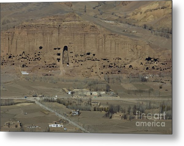 Bamiyan's Empty Alcoves Metal Print by Tim Grams