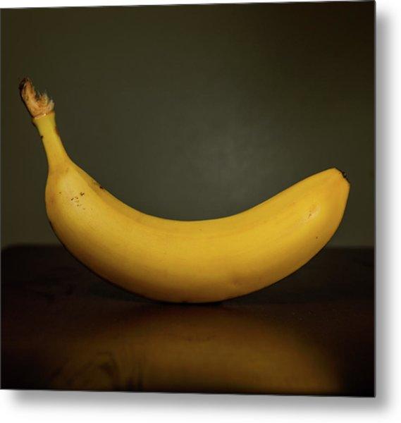 Banana In Elegance Metal Print