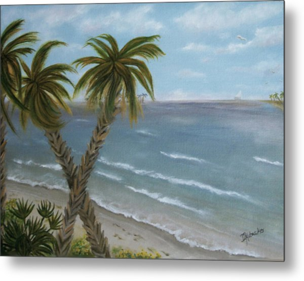 Banana River Metal Print