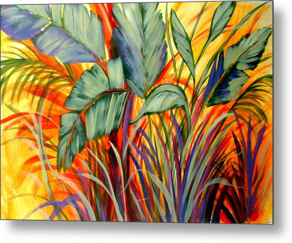 Banana Tree  Metal Print