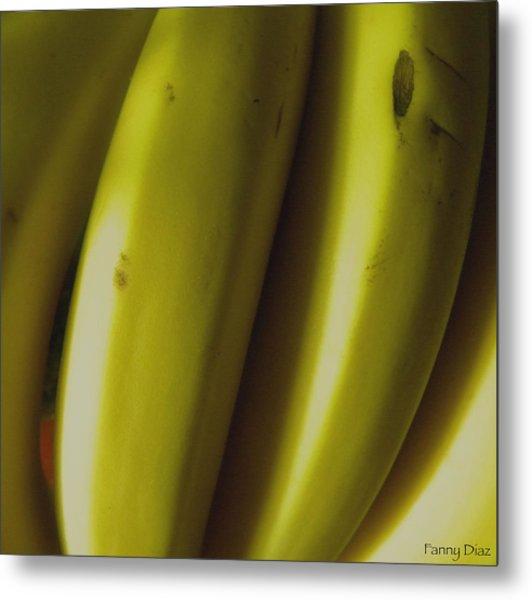 Bananas Metal Print by Fanny Diaz