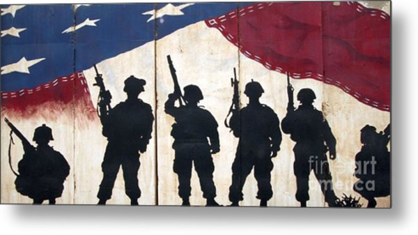 Band Of Brothers - Operation Iraqi Freedom Metal Print by Unknown