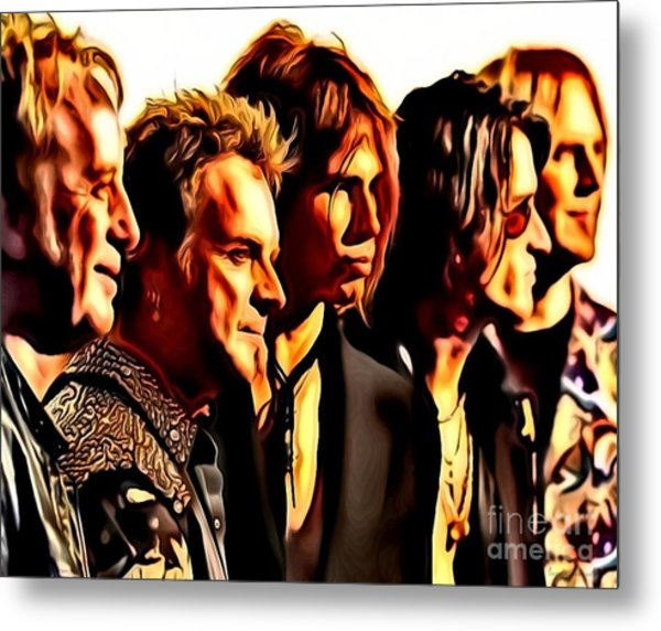 Band Who Metal Print