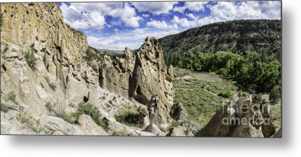 Bandelier National Monument  Metal Print