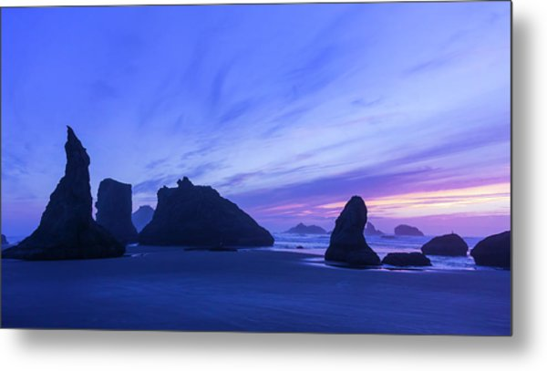 Bandon Blue Hour Metal Print