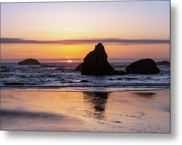 Bandon Glows Metal Print