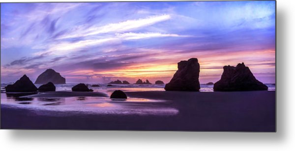 Bandon On Fire Metal Print