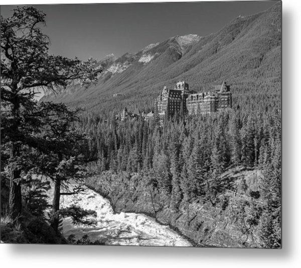 Banff Springs Hotel Metal Print