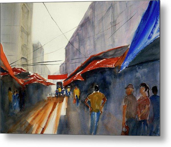 Bangkok Street Market2 Metal Print