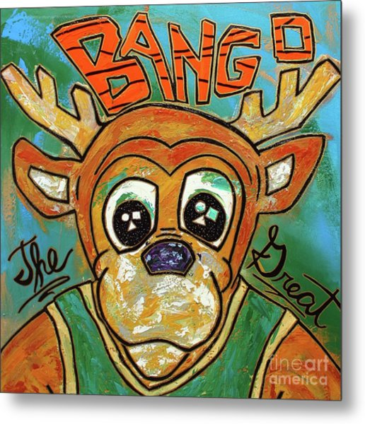 Bango The Great Metal Print